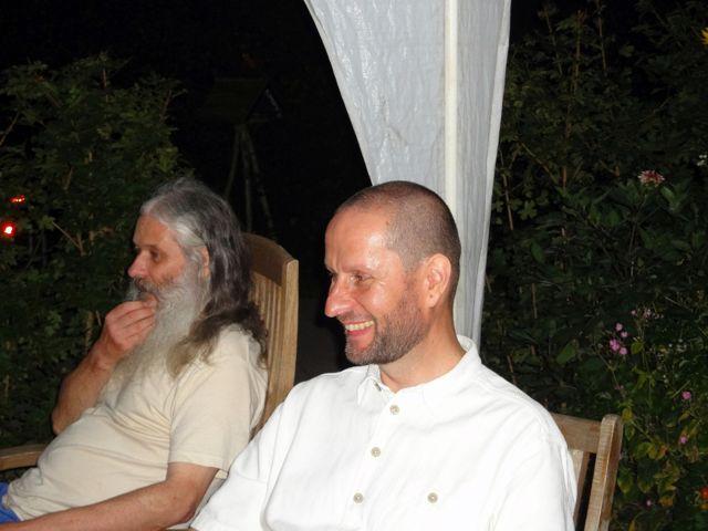 Die Freitags Trainingsgruppe (Aufnahme aus dem Jahr 2011): Reiner Basteck, Hanns Schulz-Mirbach (v.l.n.r.)