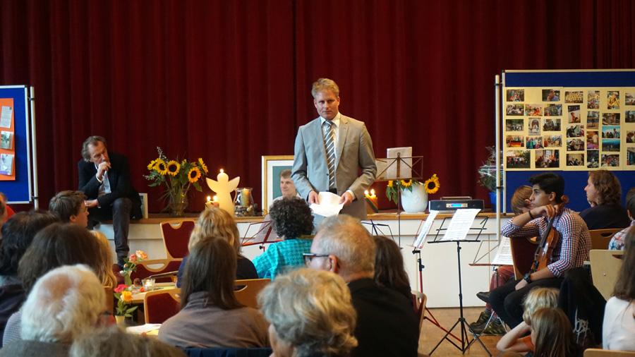 Ansprache von HSK Schachwart Dr. Helge Hedden